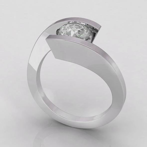 NR Design Allegria Ring - 3DOcean Item for Sale