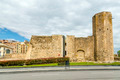 A view of the roman circus tower, Tarragona, Spain. - PhotoDune Item for Sale
