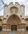 Tarragona Cathedral. One of most famous places of province. Catalonia, Spain. - PhotoDune Item for Sale