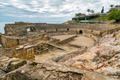 Ruins of the ancient amphitheater in Tarragona, Spain - PhotoDune Item for Sale