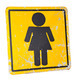 Women's room sign. - PhotoDune Item for Sale