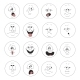 Emotion Smiles Set 003 - GraphicRiver Item for Sale