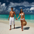 Couple on a beach at Maldives - PhotoDune Item for Sale