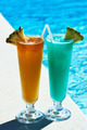 Cocktails near swimming pool - PhotoDune Item for Sale