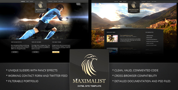 Maximalist - XHTML Template