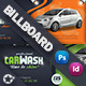 Car Wash Billboard Template - GraphicRiver Item for Sale