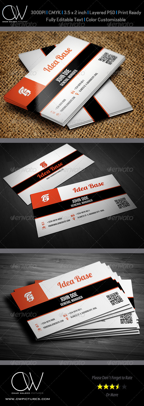 GraphicRiver Corporate Business Card Vol.22 4638057