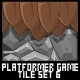 Platformer Game Tile Set 6 - GraphicRiver Item for Sale