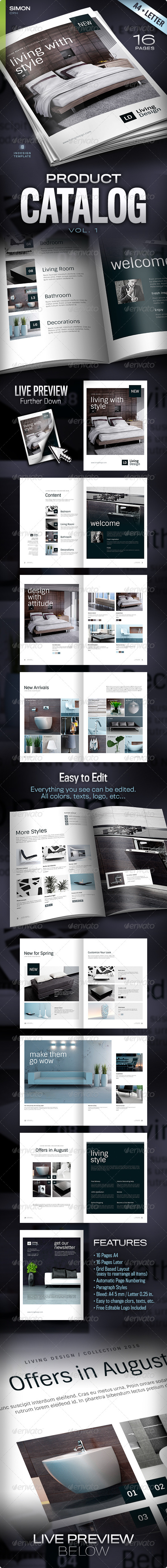 GraphicRiver Product Catalog Vol 1 4638512