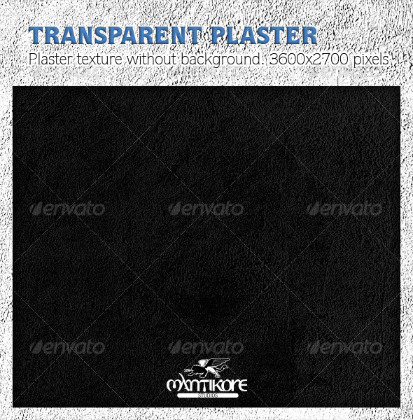 GraphicRiver Transparent Plaster Texture 4638921
