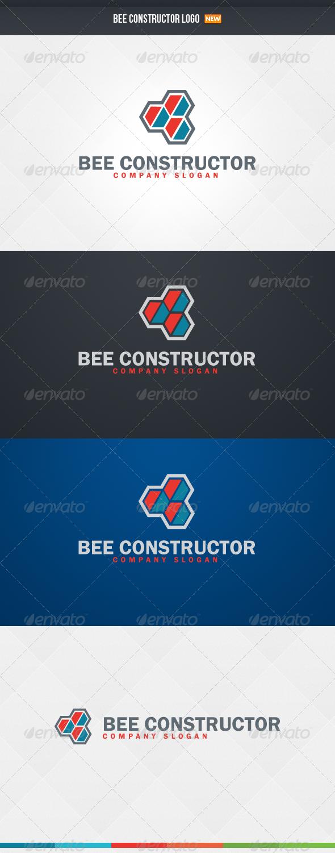 GraphicRiver Bee Constructor Logo 4423200