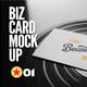Business Cards   Flyer   Logo Mock-Up