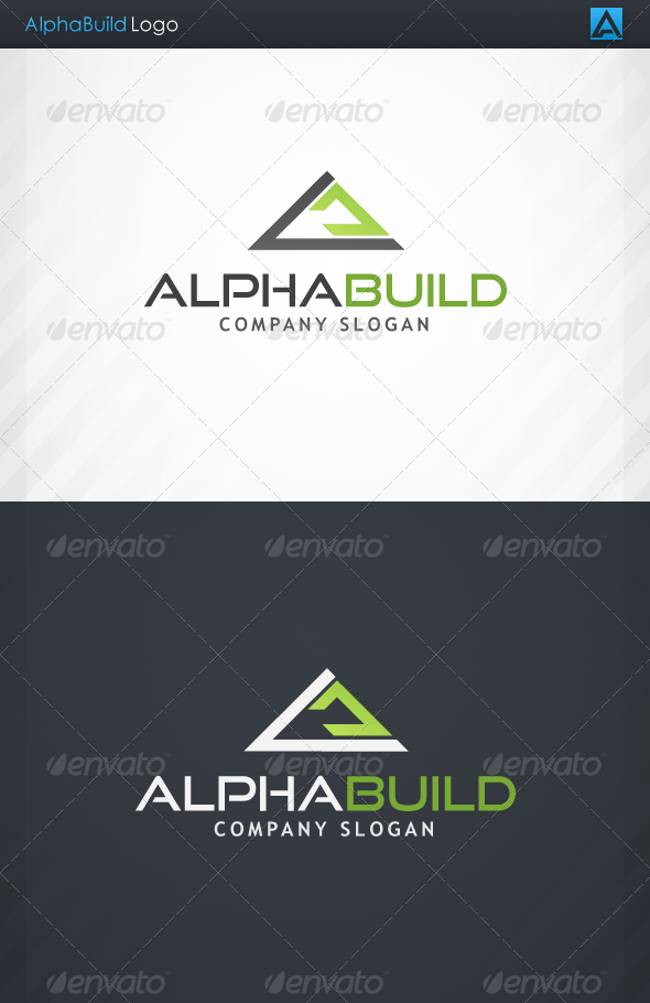 GraphicRiver AlphaBuild Logo 4174884