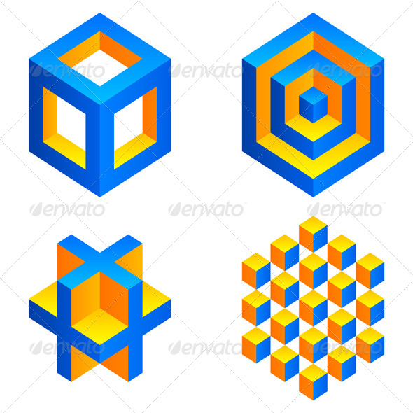 GraphicRiver Geometric Figures 4639569