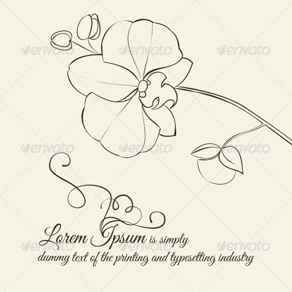 GraphicRiver Abstract Flower Background 4639692