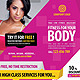 Fitness/Gym Business Promotion Flyer - GraphicRiver Item for Sale
