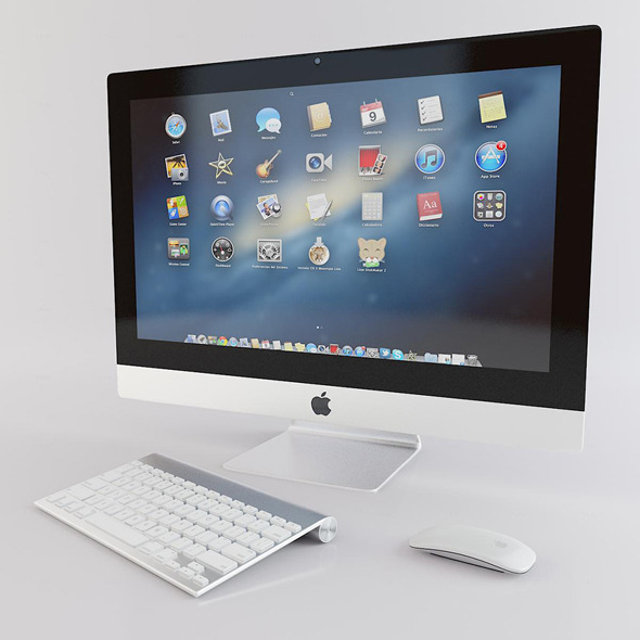 Apple iMac - 3DOcean Item for Sale