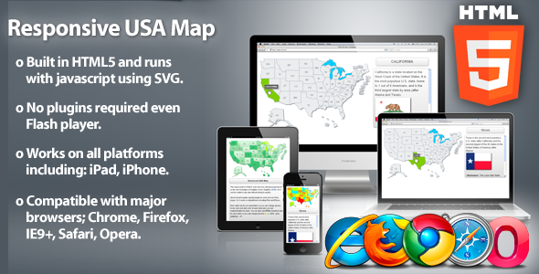 Popular HTML Files Entheos - Html5 us map