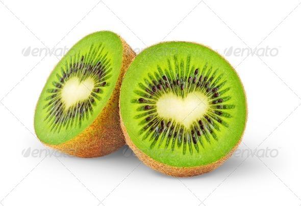 PhotoDune Heart-shaped kiwi fruit 484988