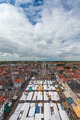 Market on the central square of the Dutch town Delft - PhotoDune Item for Sale