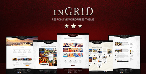 ThemeForest InGRID Responsive Multi-Purpose WordPress Theme 4585694
