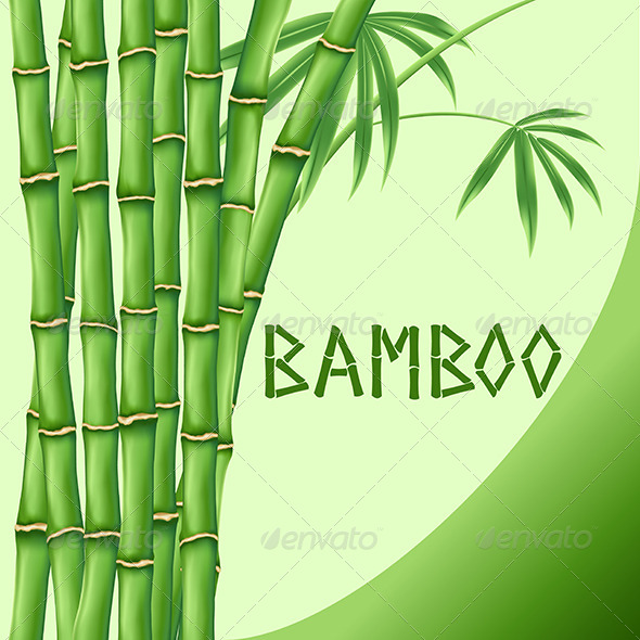 GraphicRiver Bamboo Background 4640237