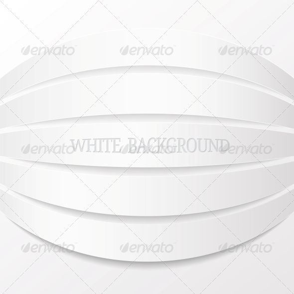 Abstract White Background Vector Illustration
