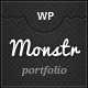 Monstr Folio - ThemeForest Item for Sale