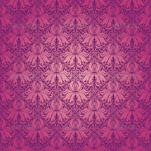 GraphicRiver Damask Seamless Floral Pattern 4640455