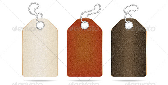 GraphicRiver Leather Tag 4640504