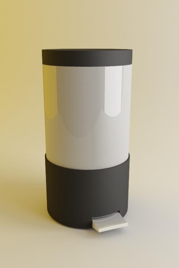 3DOcean Trash Bin 4640669