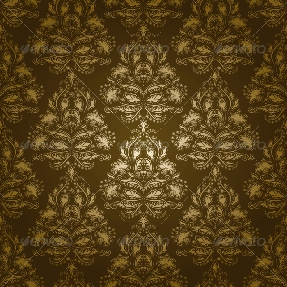GraphicRiver Damask Seamless Floral Pattern 4640671