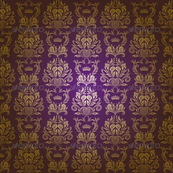 GraphicRiver Damask Seamless Floral Pattern 4640681