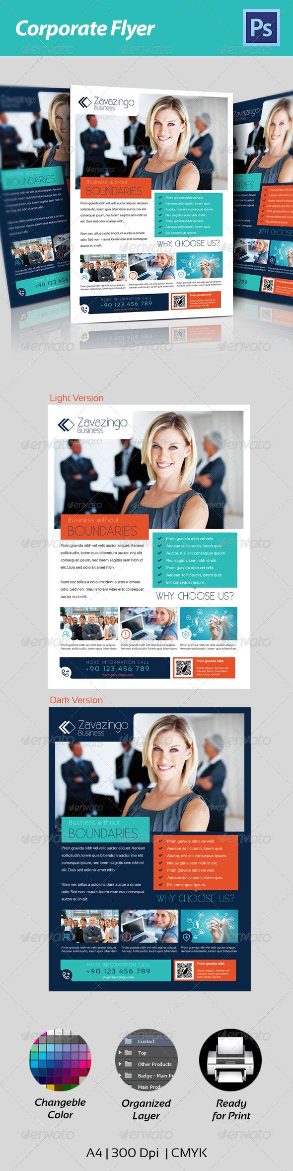 GraphicRiver Corporate Flyer 4640914