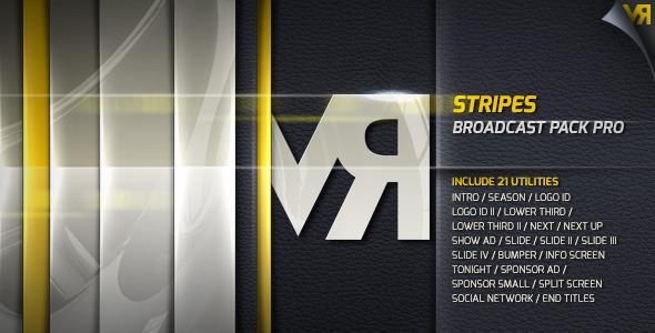 Stripes Broadcast Pack Pro