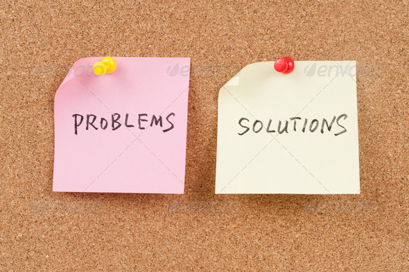 Problems and solutions words
