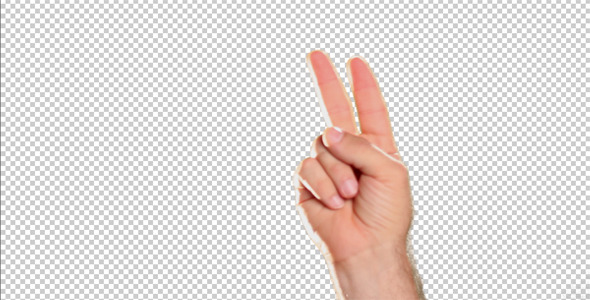 Hand Gestures Peace Sign
