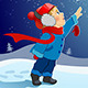 The Boy Says Goodbye to Santa - GraphicRiver Item for Sale