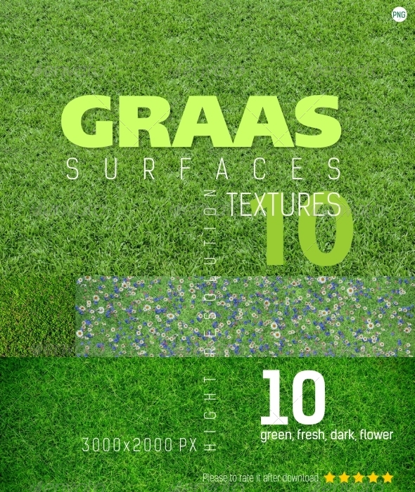 GraphicRiver Grass Surfaces Texture Backgrounds 4642049