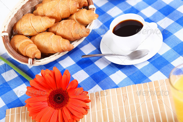 Continental breakfast - Stock Photo - Images