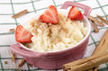 rice pudding with cinnamon and sugar - PhotoDune Item for Sale