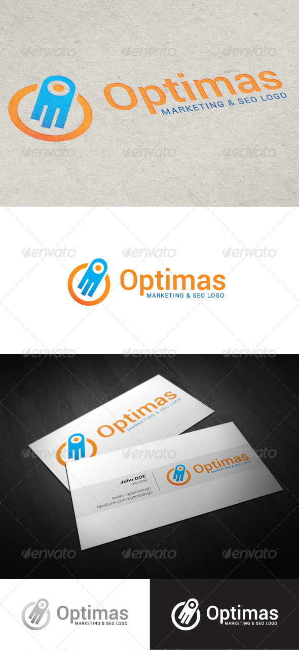 GraphicRiver Optimas Marketing & SEO Logo 4643291