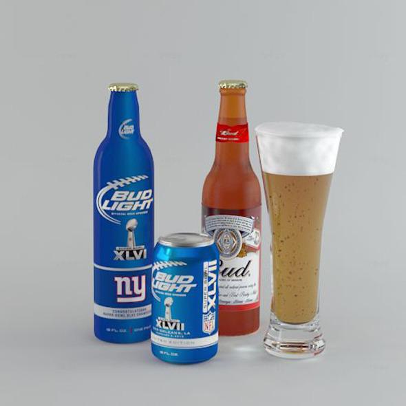 3DOcean Beer Bud 4643413