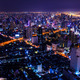 aerial view of bangkok at twilight night - PhotoDune Item for Sale