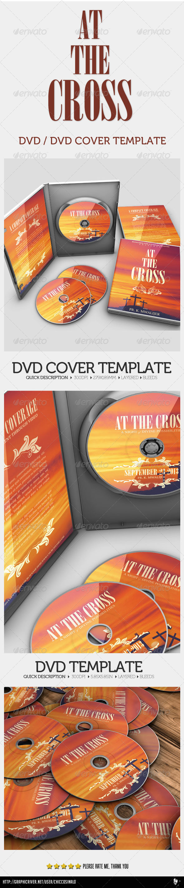 GraphicRiver At The Cross Concert Dvd 4643793