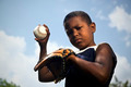 Sport, baseball and kids, portrait of child throwing ball - PhotoDune Item for Sale