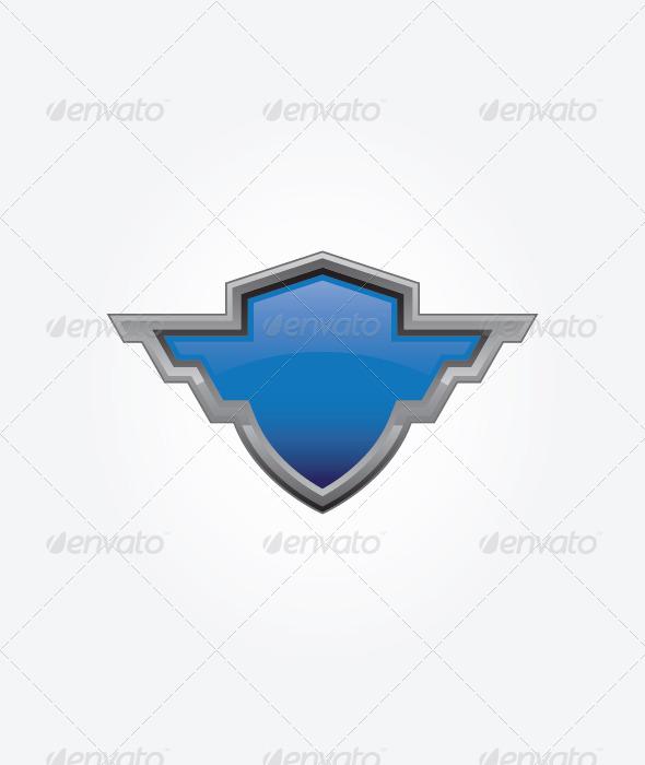 GraphicRiver Blue Shield 4643836