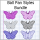 Ball Pan Styles Bundle  - GraphicRiver Item for Sale