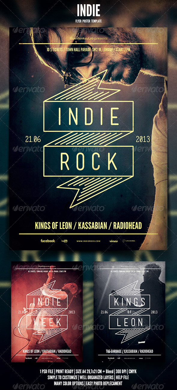 GraphicRiver Indie Flyer Poster 9 4644050