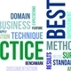 word cloud - best practice - PhotoDune Item for Sale